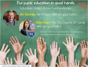 Put public education in good hands!